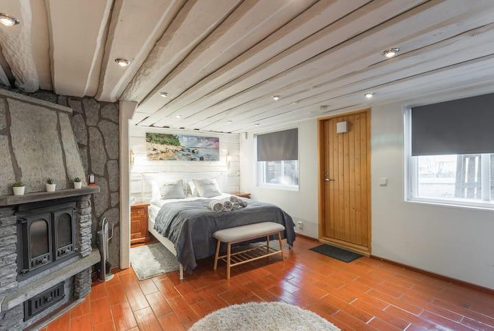 64m2 Lovely apartment+Sauna+privat terrace 2 fl