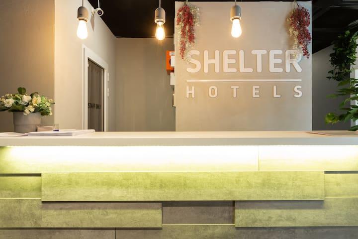 Shelter ВДНХ - двухместный номер