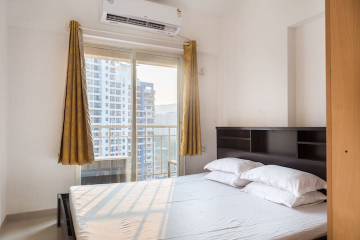 Entire 2 BHK - in Thane, near Hypercity mall