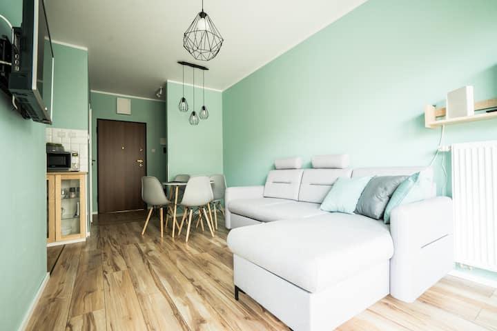 COMSY 2 przytulny i komfortowy apartament