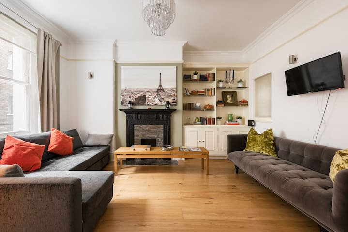 Chelsea Lux, stylish flat close to shops&  museums