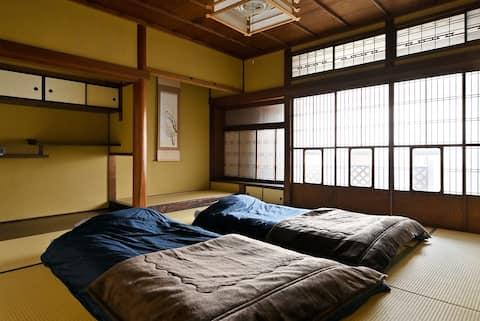 Traditional house near JR Nara station