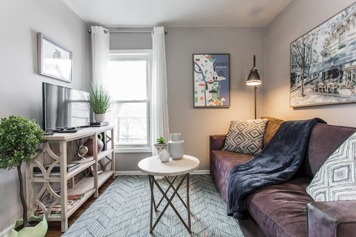 Great location - Cozy Logan Sq/Bucktown Apartment