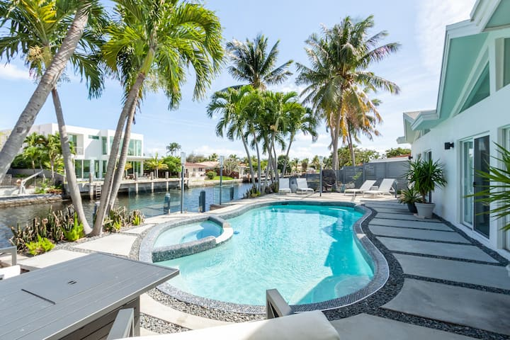 -WELCOME TO PARADISE in Fort Lauderdale WATERFRONT