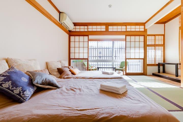 B-2 Japanese House!! Max10ppl!! 「梅」BAINAN BLD!!