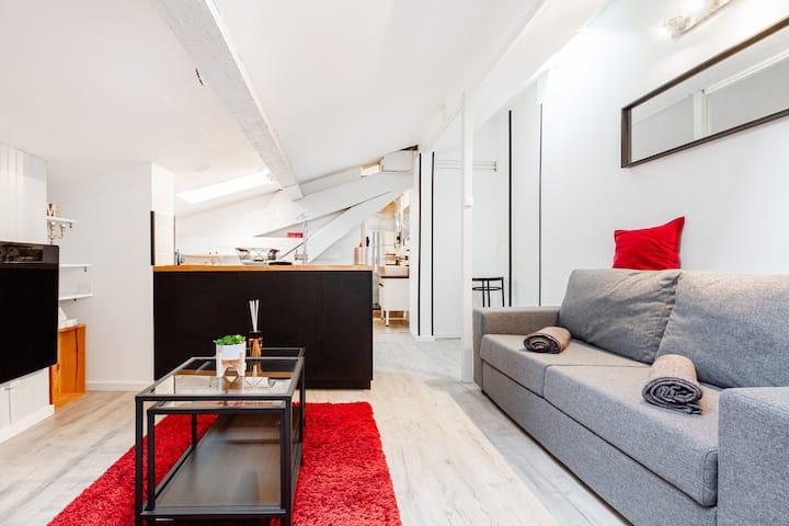 Le Cocon - Studio Calme & Chaleureux centre-ville