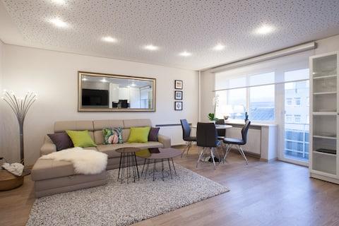 Modern Apartment in Kaunas Centre - Free Parking