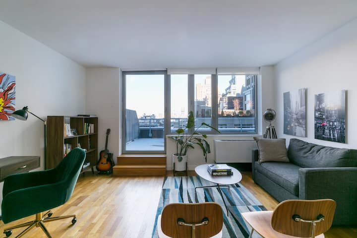 The TribeCa Apt - Luxury with Private Terrace