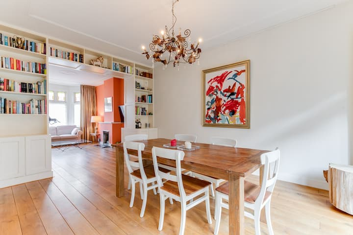 Spacious apartment with garden in The Hague