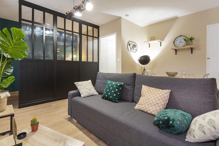 NEW Appartement rénové Intramuros -Quartier calme