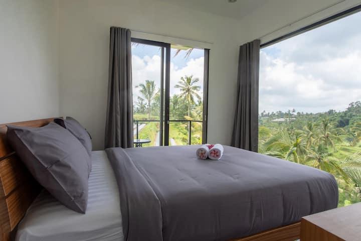 Bali Jatiluwih Angsri room with hot spring tub #1