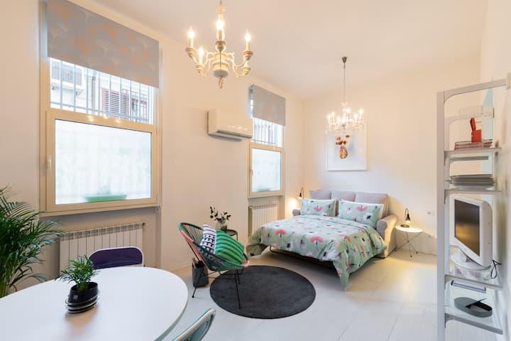 Cicognini Studio - 1 room on 39 m² in Prato