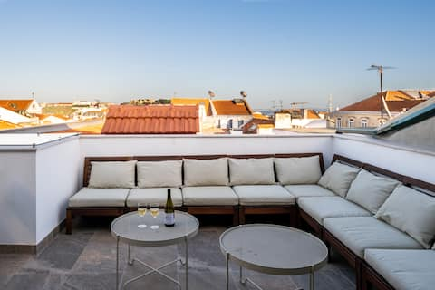Bairro Alto Luxury Duplex Apartment