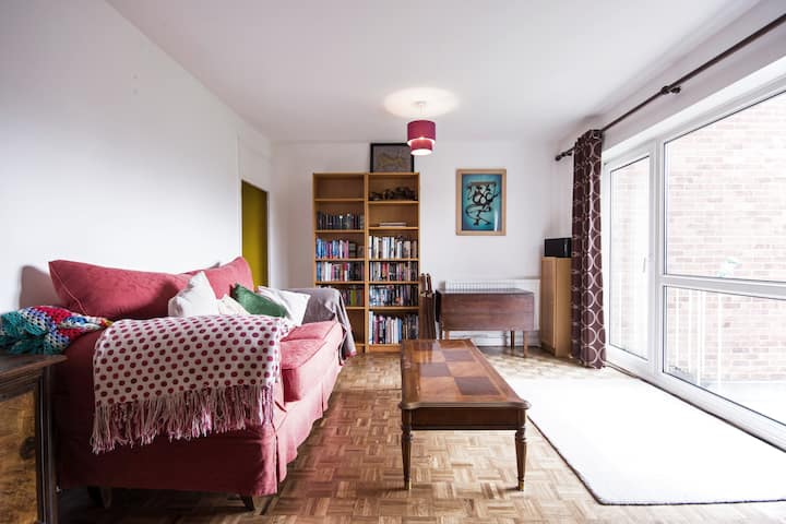 Lovely cosy sunny flat in Summertown, Oxford