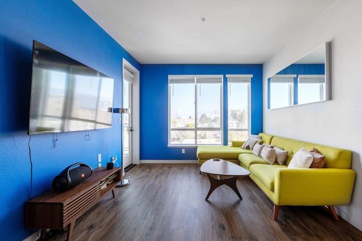 2br in heart of Downtown Oakland