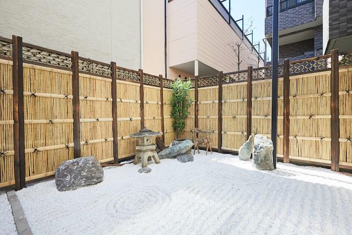 新宿區三室兩廳日式花園獨棟別墅/徒步2分鐘地鐵/8分鐘新宿