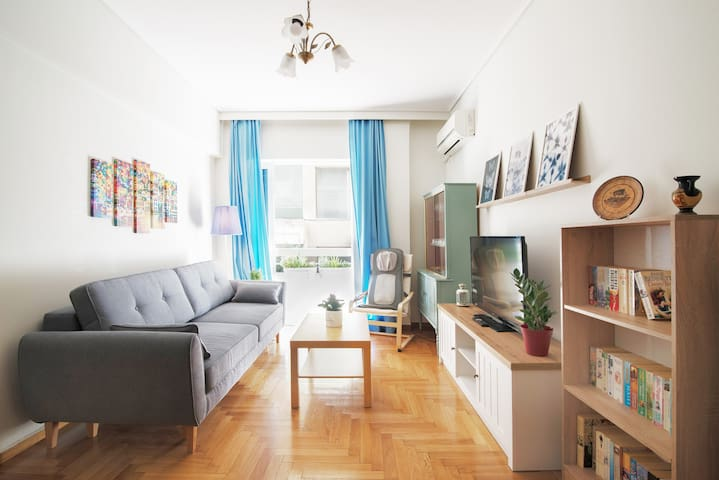 Charming and Comfortable Nea Smyrni Apartment