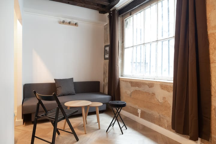 Appartement 2 chambres Paris 5eme