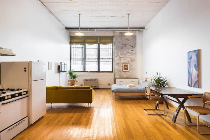 Your Own Spacious Loft in the Heart of Bushwick