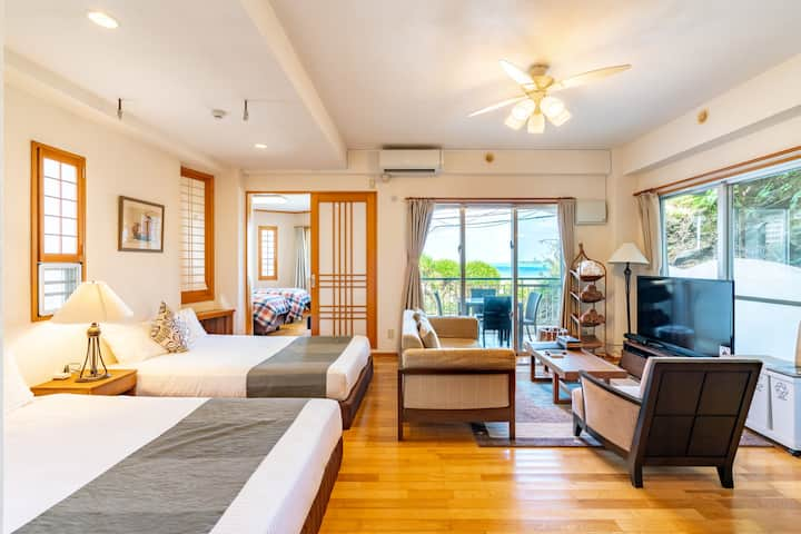 [Beachfront] 2F | Room that feels the sea