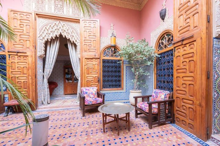 Riad marocain