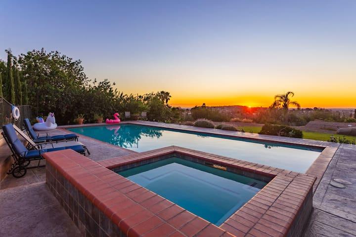 Amazing San Diego Home Ocean Sunset View Pool Htub