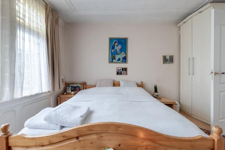 100 % comfort, Big room, Big bed, latex mattres