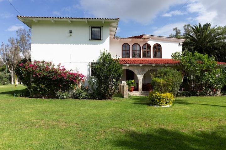 Casa Tina  Alberca con Caldera