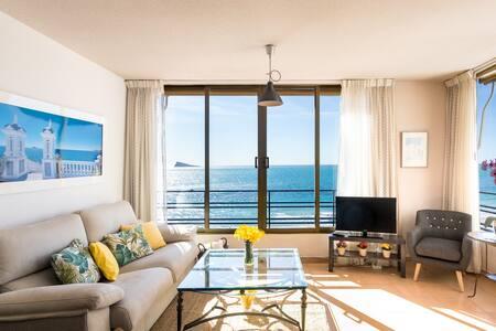 Beachfront apartment  in Poniente