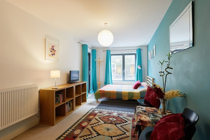 Large room with balcony in Oval/Brixton