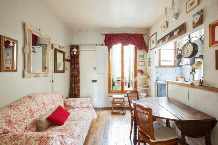 Romantische Wohnung, Montparnasse 2015