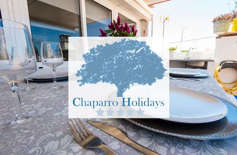 Chaparro Holidays - Big house with terrace - FREE coffee