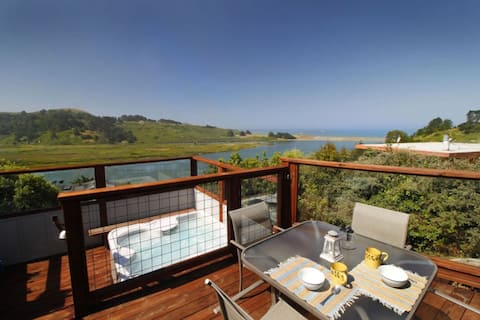 River Sea Cottage to Ocean Views