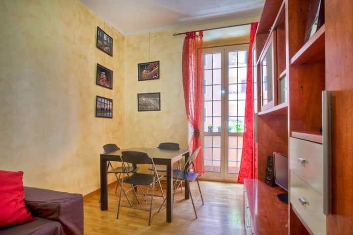 Carinissimo apt con balcone Appio Latino - 80847 - 09e33e4d
