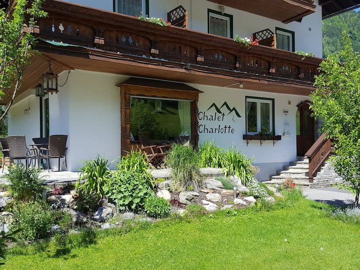 Chalet Charlotte for 12 persons.