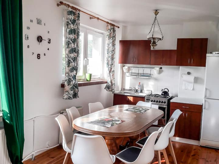 4-room apartment 120 m² Reihenhaus for 9 persons