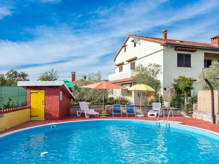 Holiday House Pina in Pazin for 4 persons