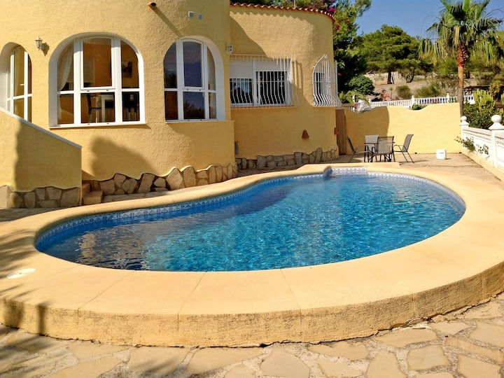 Holiday home in Altea/Benidorm for 8 persons