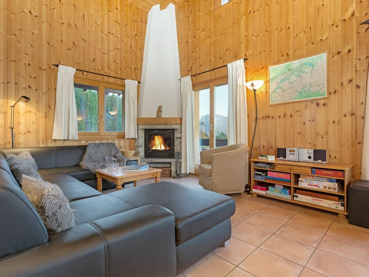 the Chalet on the Piste for 8 persons.