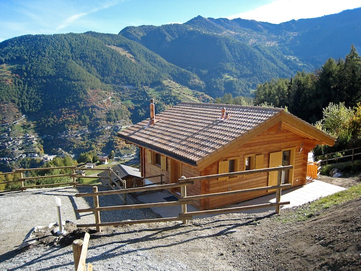 Chalet Petite-Arvine for 6 persons.