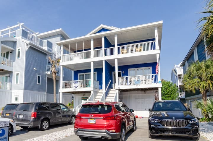 All About the Z's-Treat your family to this magnificent home across the street from the beach.