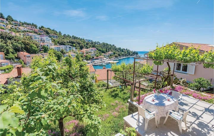 Awesome home in Rabac with 1 Bedrooms