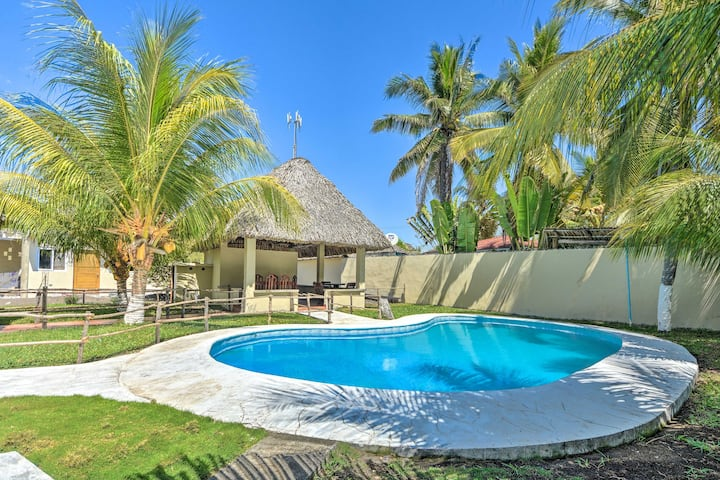 Guatemala Beachfront Villa w/ Direct Beach Access!