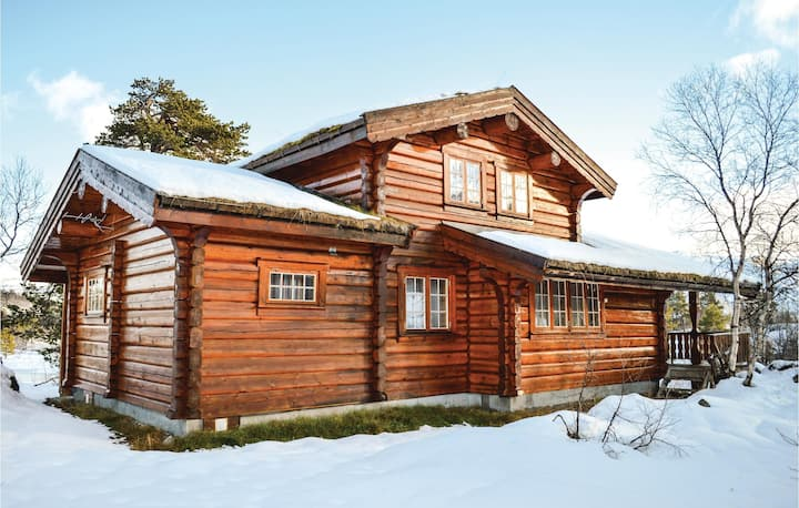 Stunning home in Hovden with Sauna and 5 Bedrooms