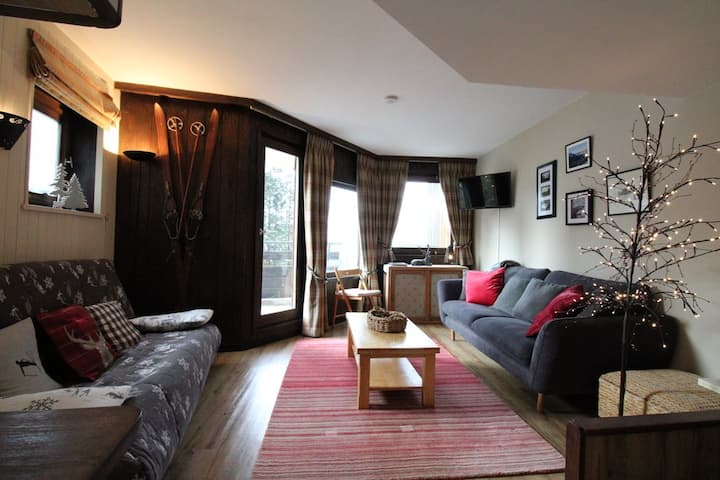 Nice 3 rooms in duplex for 6 persons