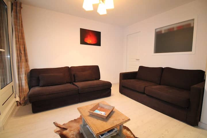 Very nice 3 rooms charm fully renoved for 6 persons
