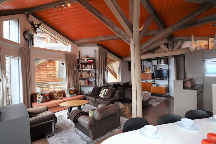 Beautiful chalet for 14 persons