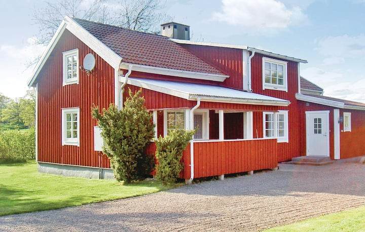 Beautiful home in Vittaryd with 4 Bedrooms