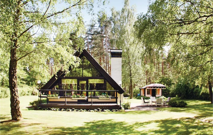 Amazing home in Fjälkinge with WiFi and 1 Bedrooms