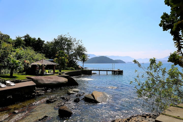 Ang034 - Charming 4 bedroom house in Angra dos Reis